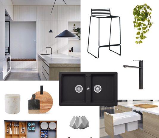 Kitchen inspiration moodboard
