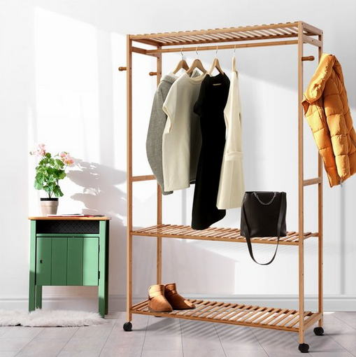 Bamboo best clothes racks