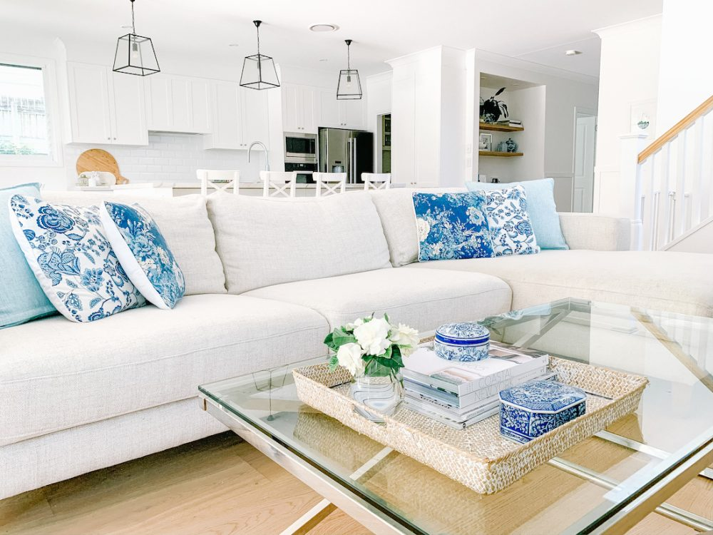 Hamptons home_living room