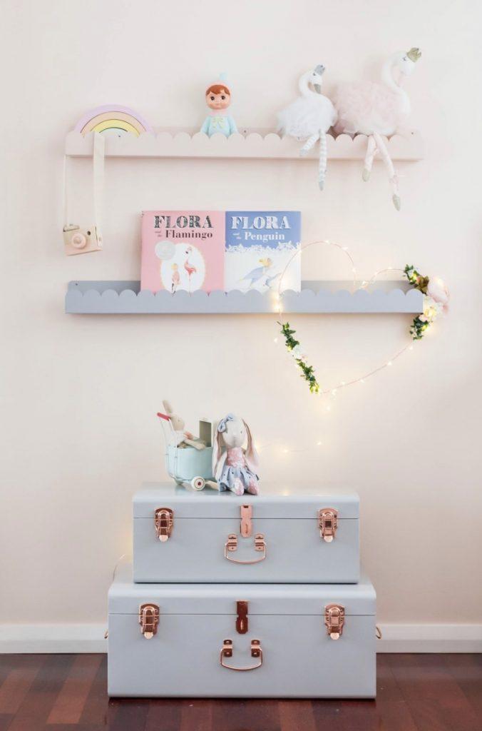 Petite Jolie cloud shelves