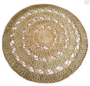 Round jute rug