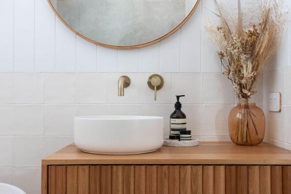Vanity details luxe bathroom reno