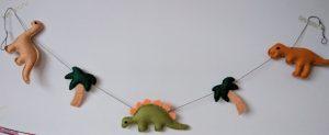 Dinosaur garland