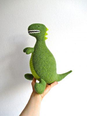Organic dinosaur toy