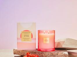 Orange blossom and coconut Glasshouse Fragrances candle