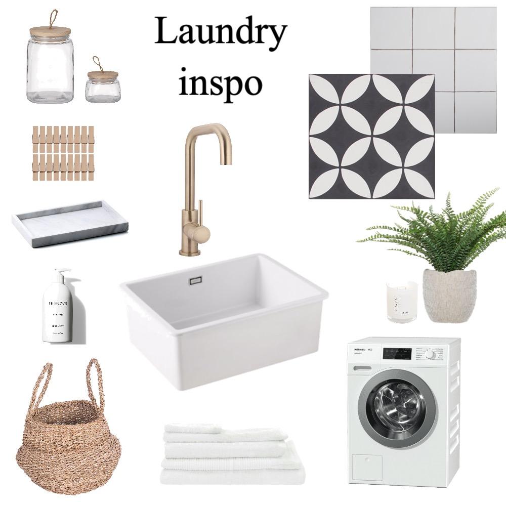 Laundry mood board