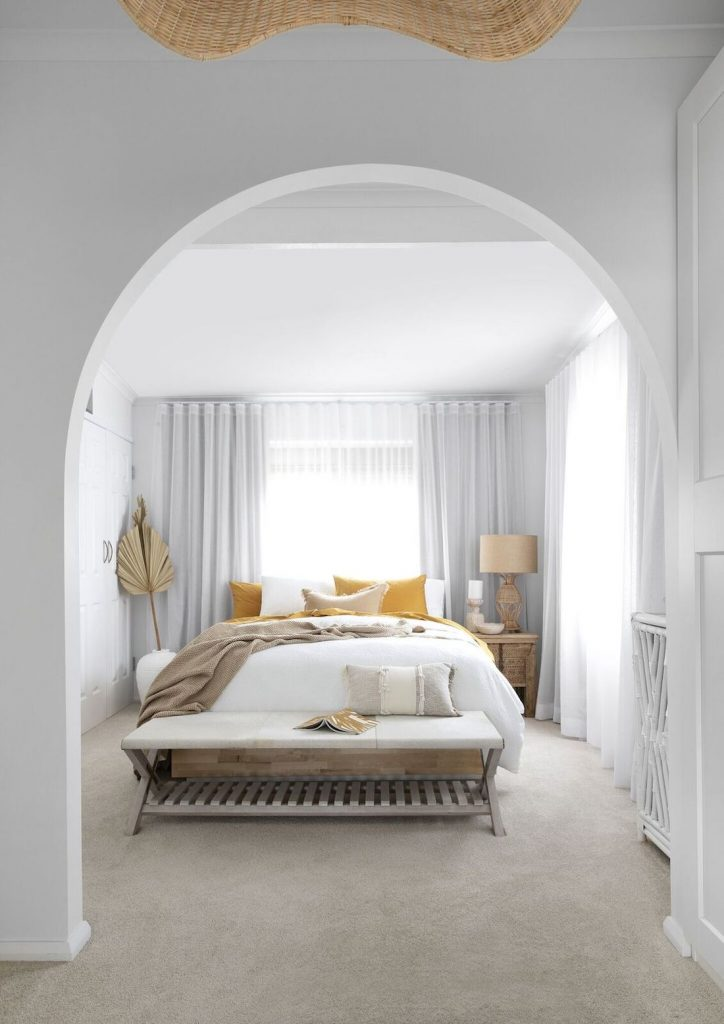 Villa Styling_archway to bedroom