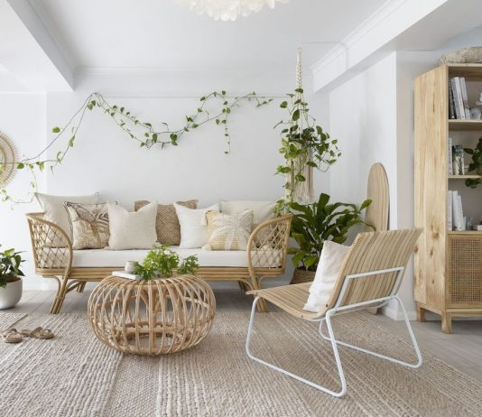 Villa Styling_boho living room