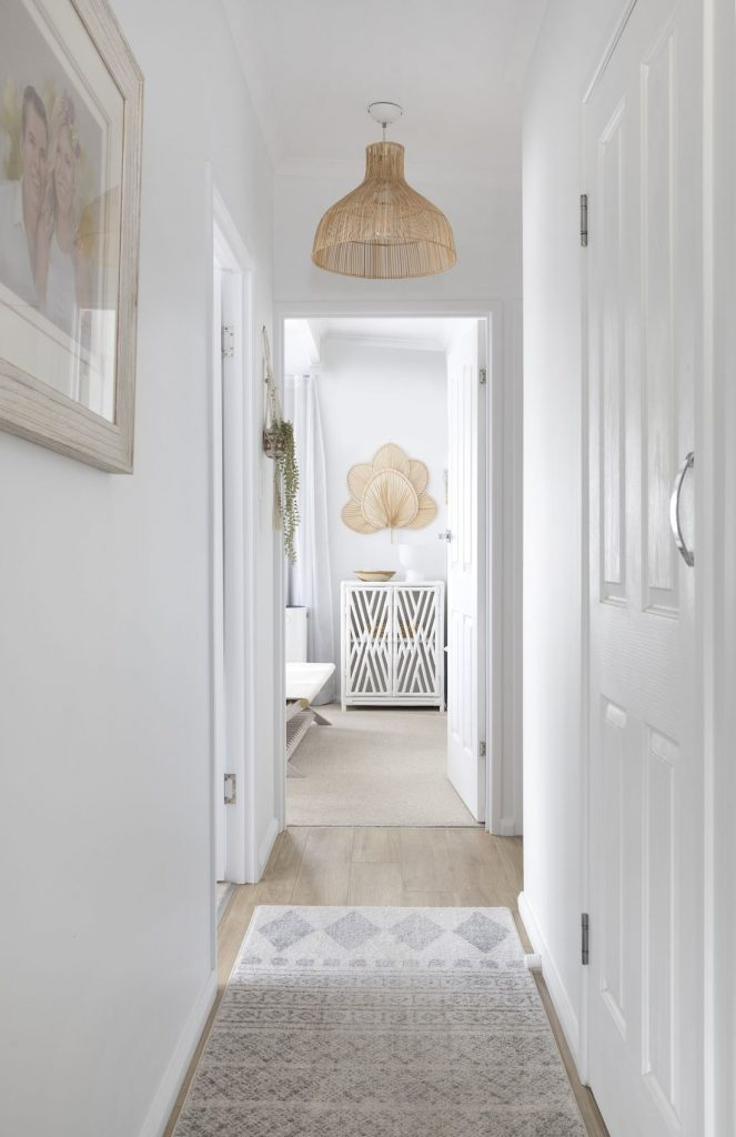 Villa Styling_hallway with runner