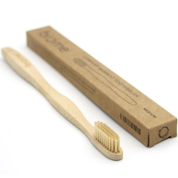 Biome bamboo toothbrush