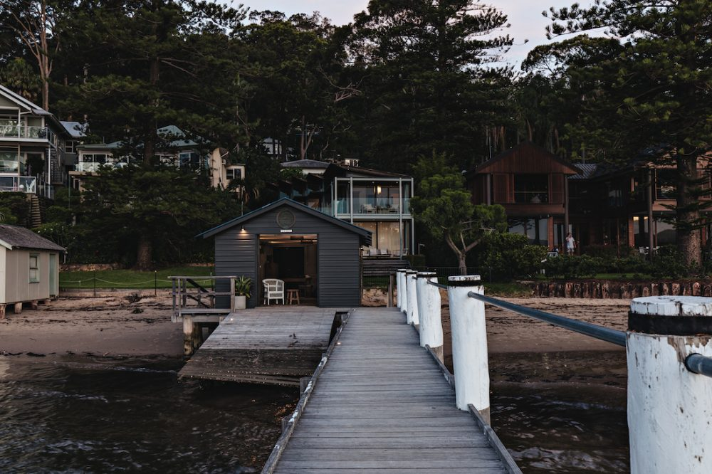 The Jetty House_back to boat house and home
