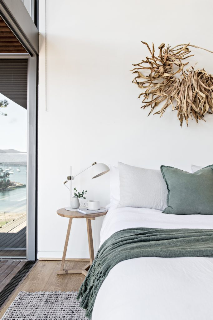 The Jetty House_bedroom green