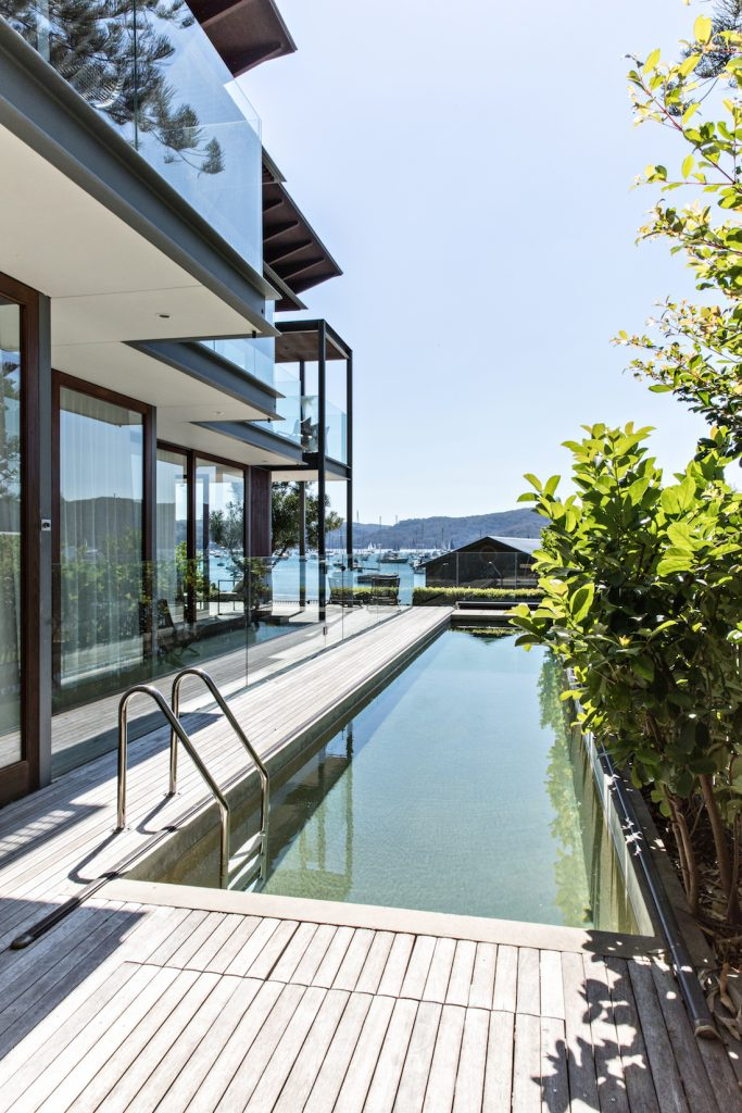 The Jetty House_pool view