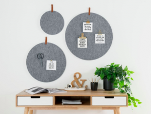 Felt pin boards