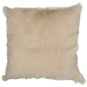 Hide cushion