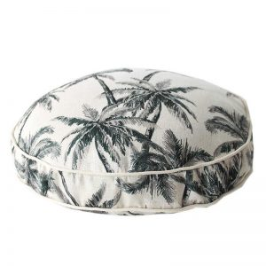 Round outdoor cushion