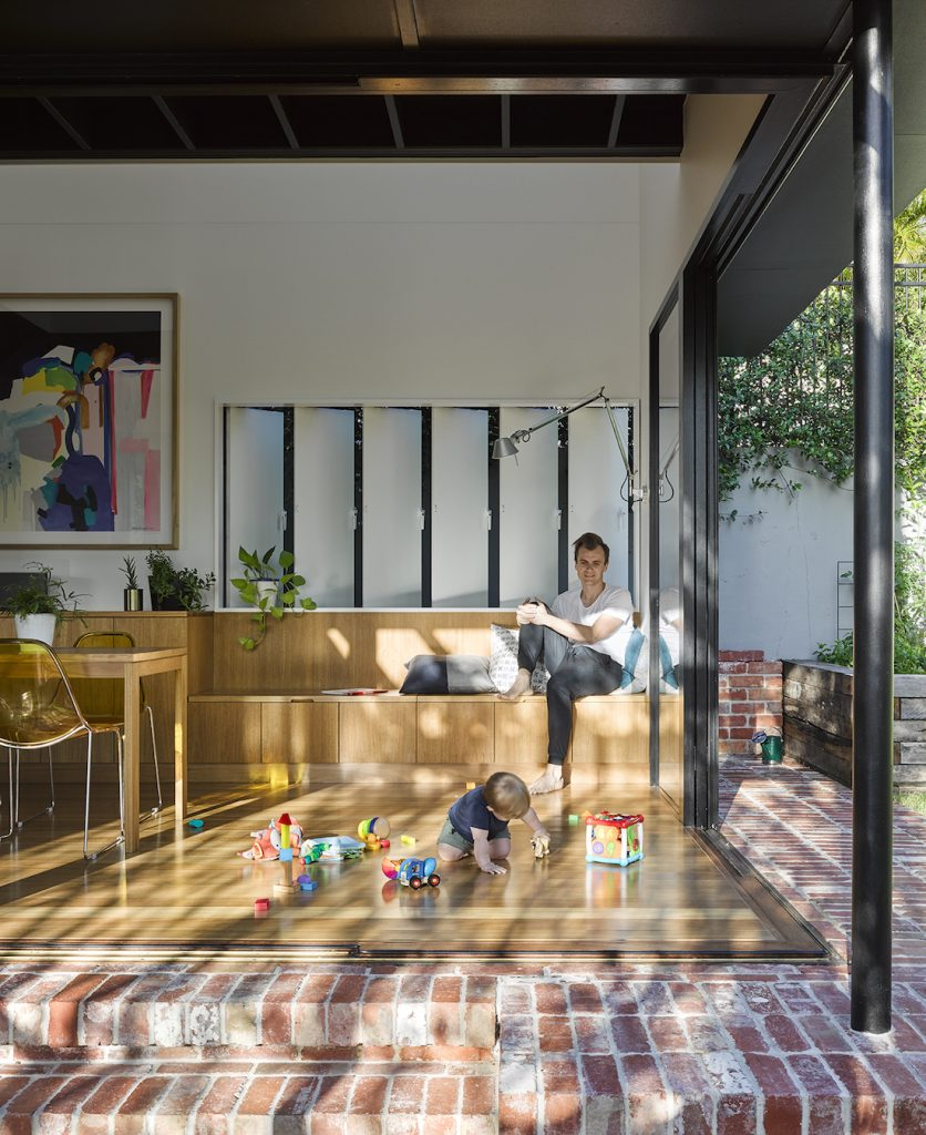 Paddington home_Kieron Gait_open walls living