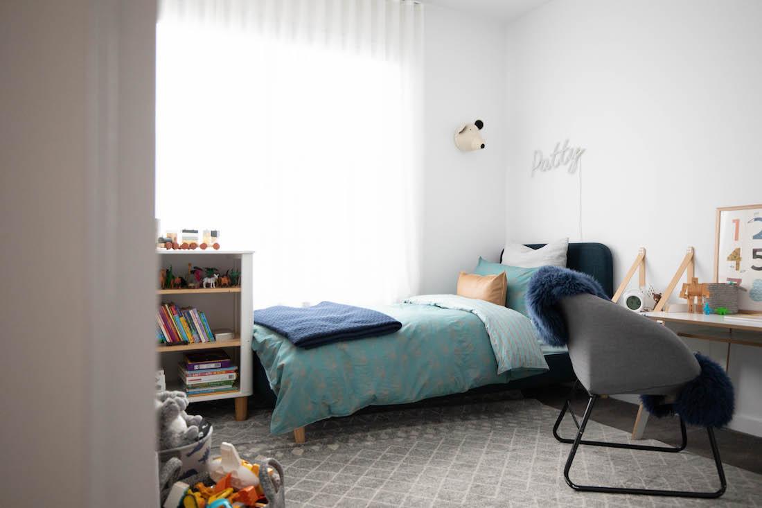 Patrick's room makeover