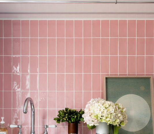 Pink laundry tiles_Newmarket House_Berkeley Interiors