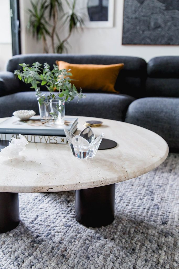 Bask Interiors coffee table styling
