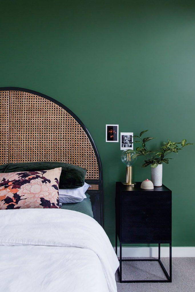 Bask Interiors_rattan bed