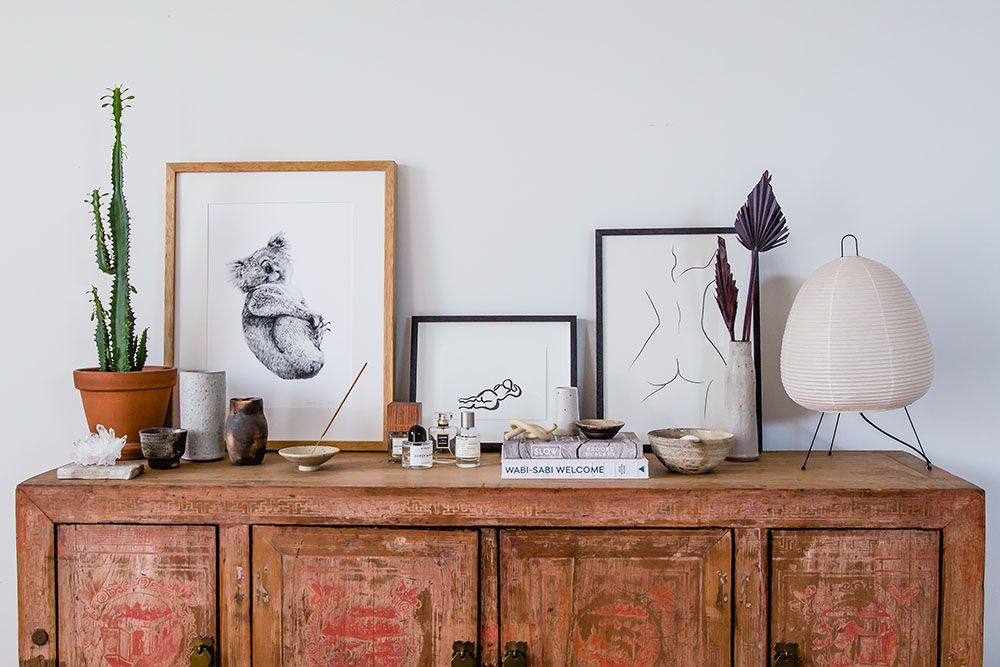 Bask Interiors_sideboard styling