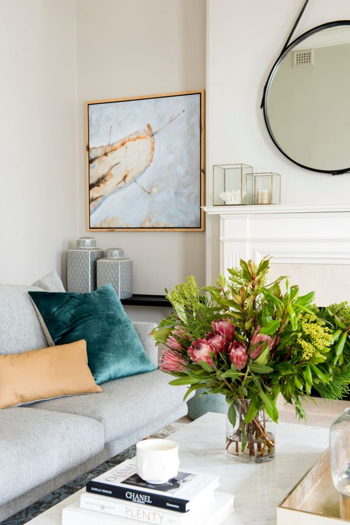 Berkley Interiors_Swanbourne_coffee table and couch