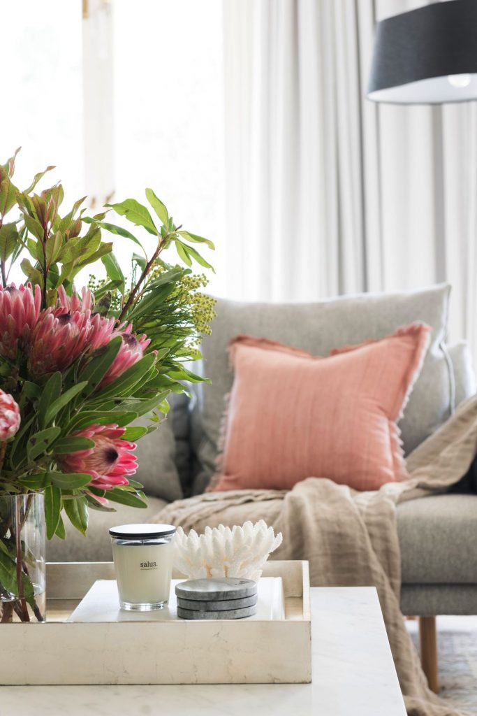 Living room styling Style your investment property