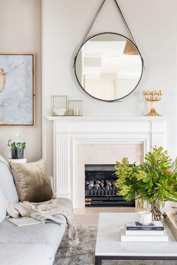 Berkley Interiors_Swanbourne_fireplace