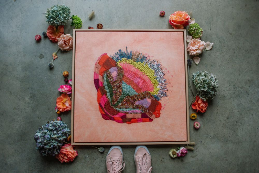 Fleur Woods_pink flower