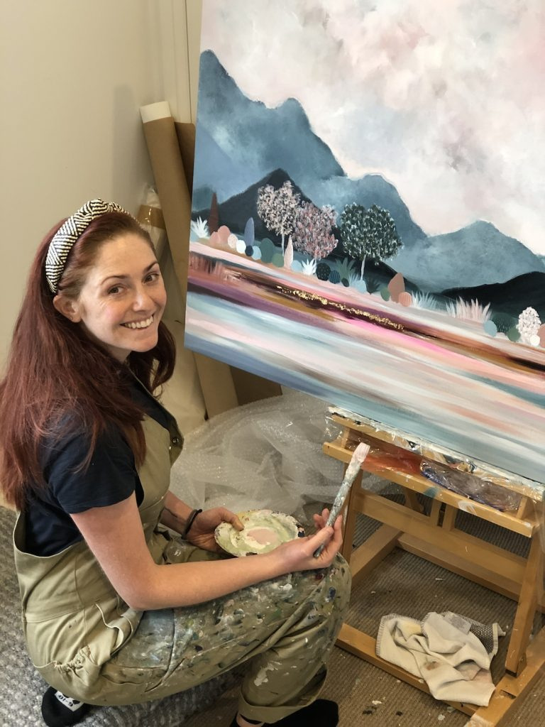 Jessie Rigby_painting