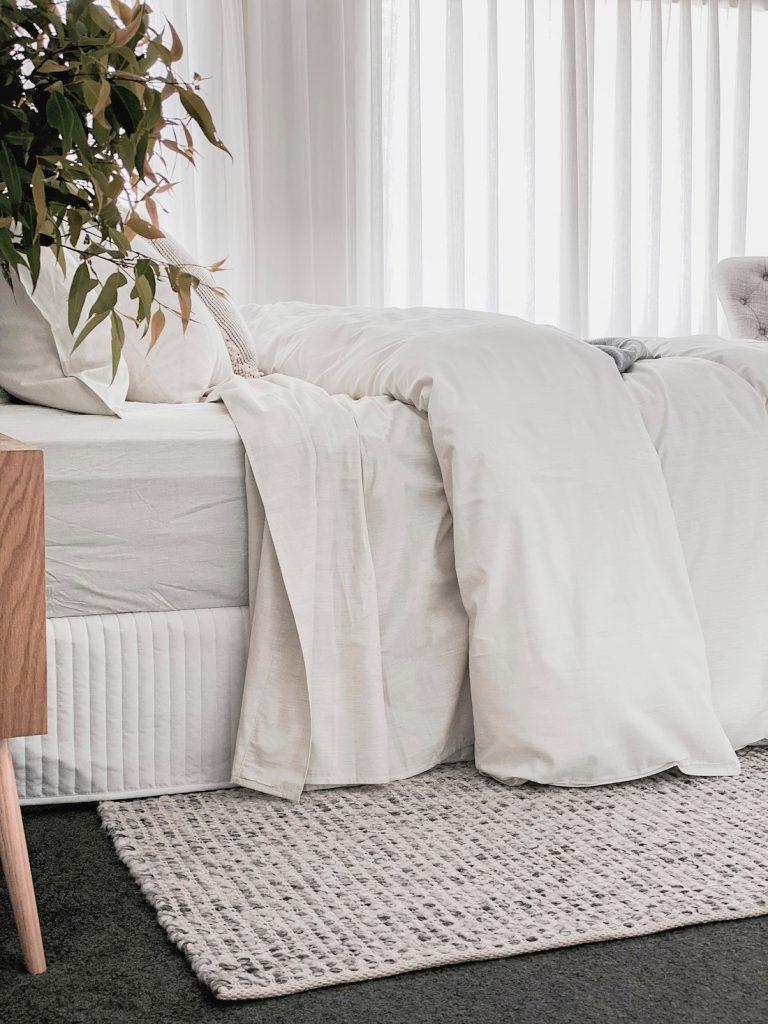 Pure Zone bedding in bedroom