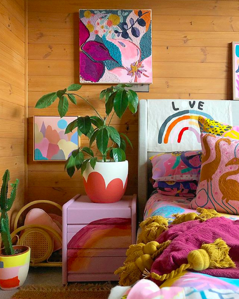 The Colour Tribe_80s home_bedroom details