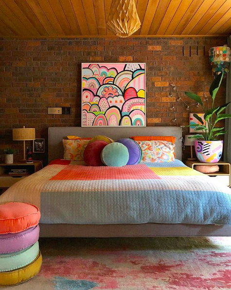 The Colour Tribe_80s home_bedroom main