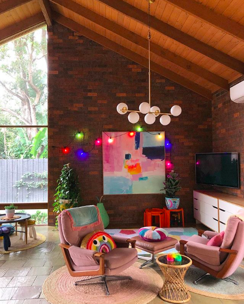 The Colour Tribe_80s home_living area