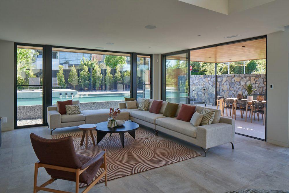 Modern Australian living room