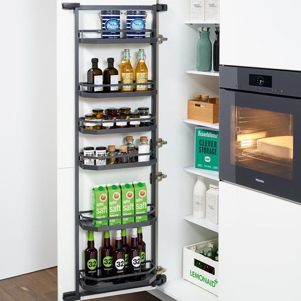 Hafele pantry door organisation