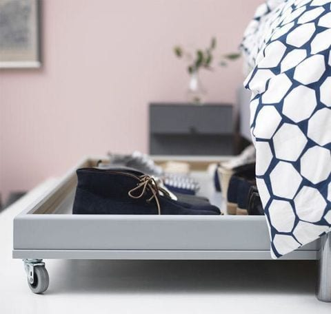 Under bed storage genius ways to organise your home