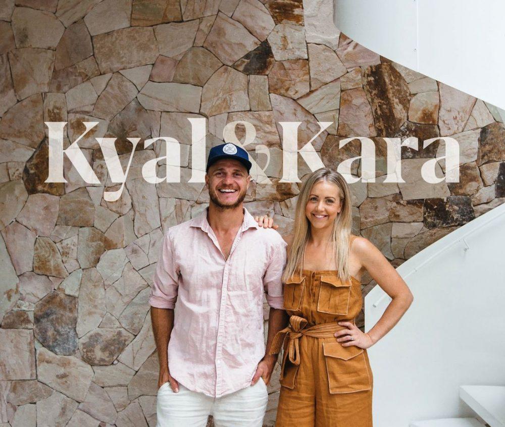 Kyal and Kara outside blue lagoon