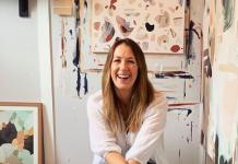 Artist Prudence DeMarchi