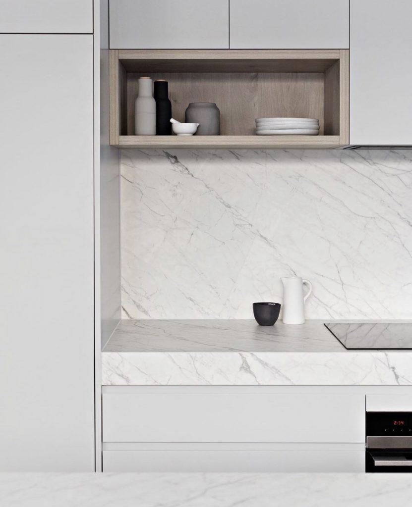 Zephyr and Stone kitchen shelf