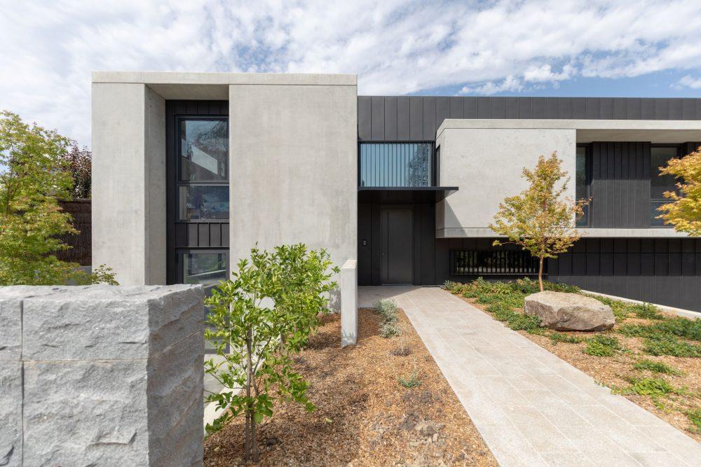 Concrete House front facade
