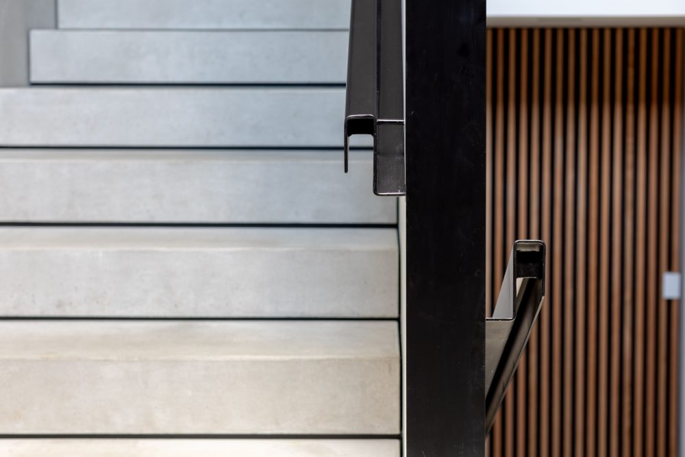 Concrete House handrail details