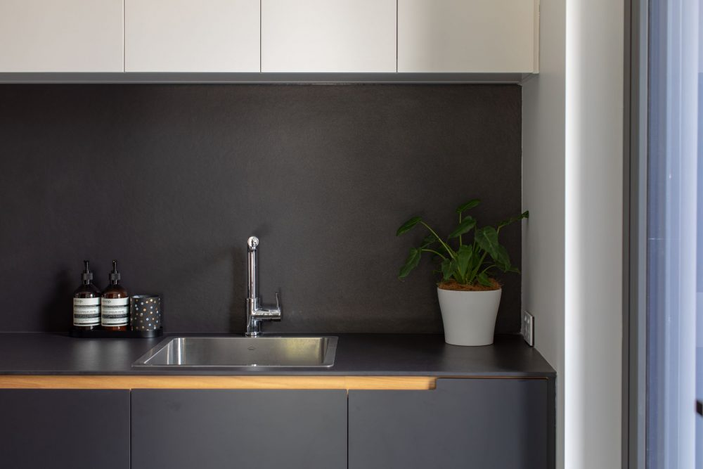Concrete House kitchen