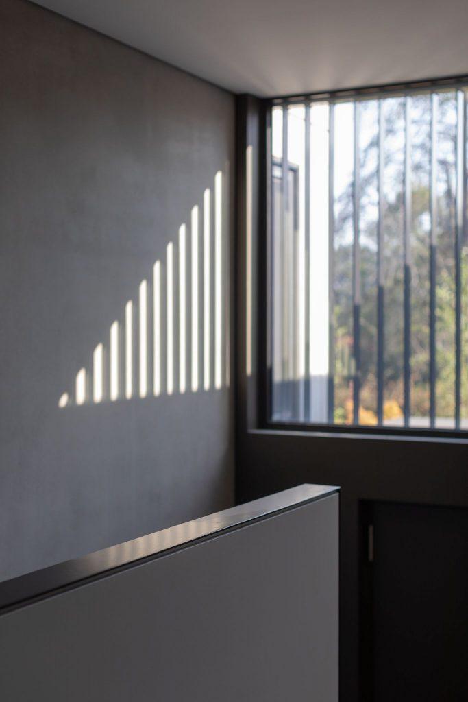 Light details of Concrete House