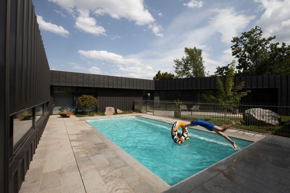 Concrete House pool area