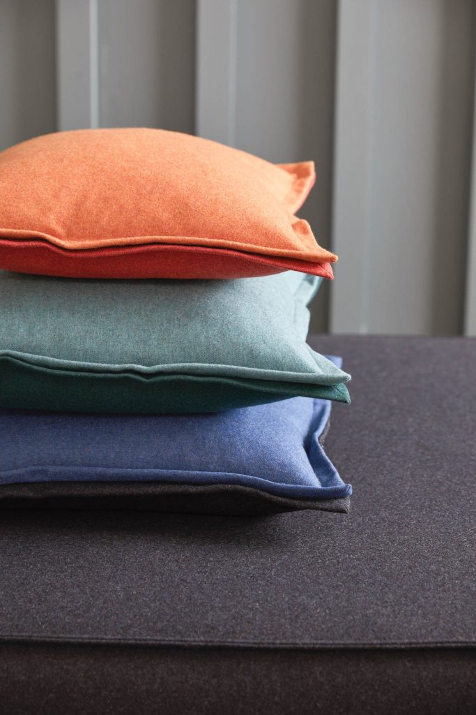 Cushion stack Join the challenge and you could design your own custom cushions