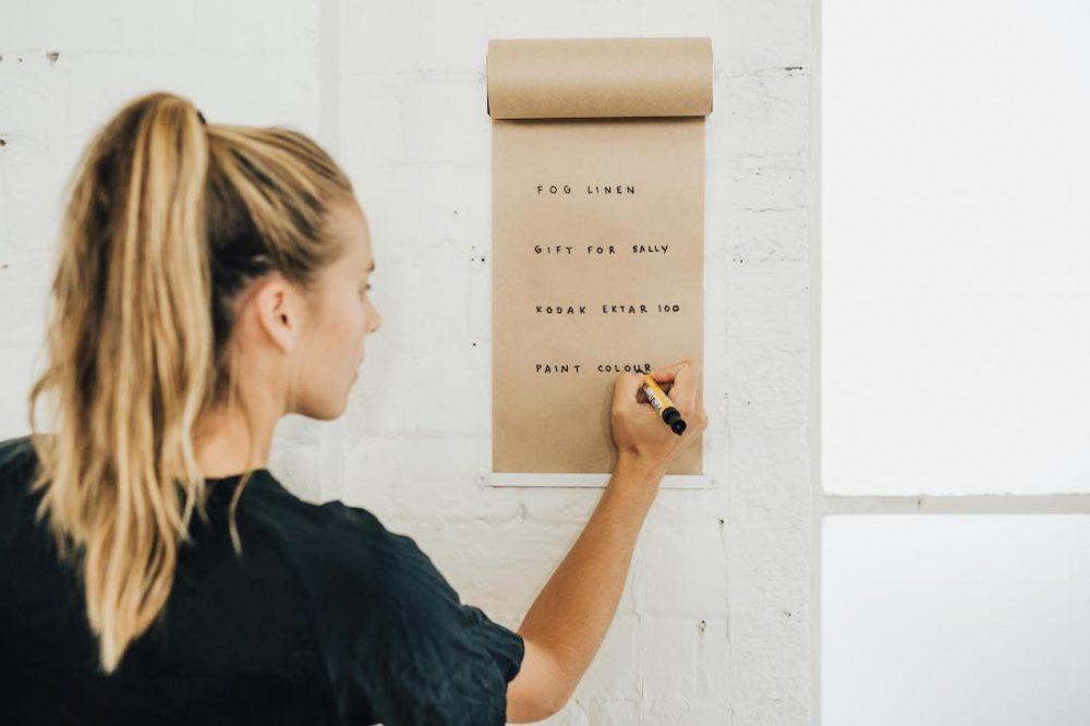 Boutique creative signage studio roller