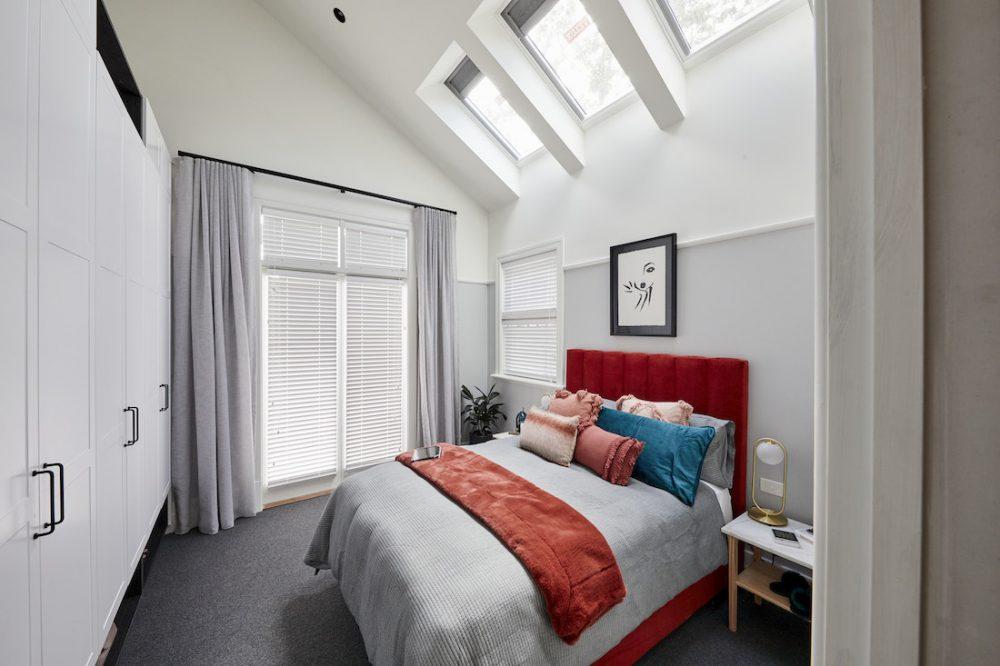 Harry and Tash guest bedroom week 1 The Block 2020