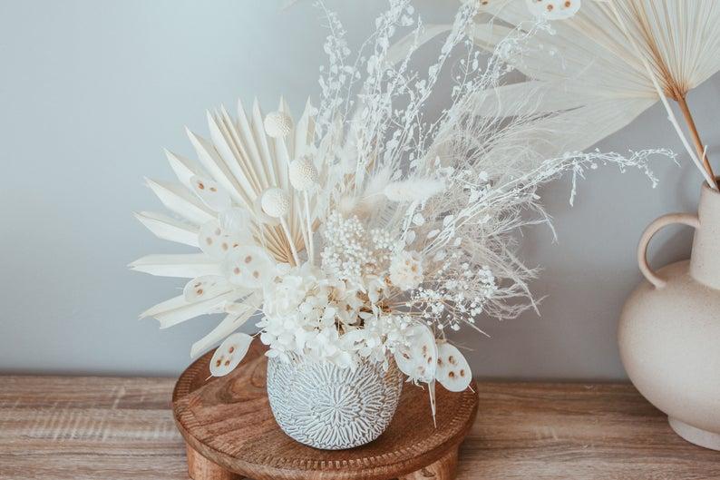 Dried floral arrangement by The Peach Fox Designs